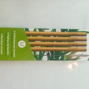 Palhinhas de bambu